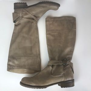 Steve Madden Tan Leather Boots 9M